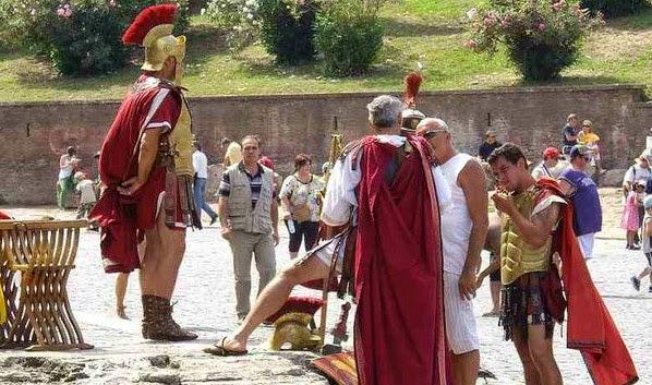 Romanos y derecho romano