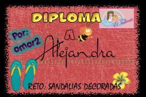 DIPLOMA RETO: Sandalias Decoradas