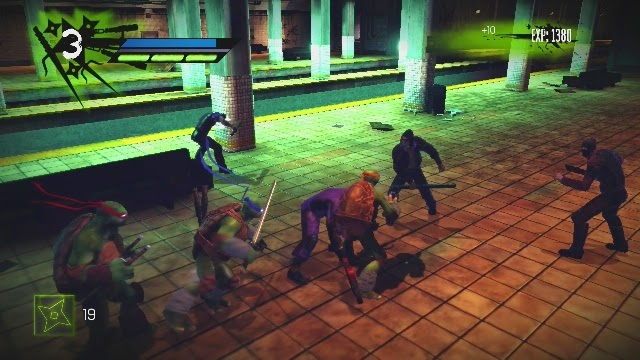 Teenage Mutant Ninja Turtles PC Games Gameplay