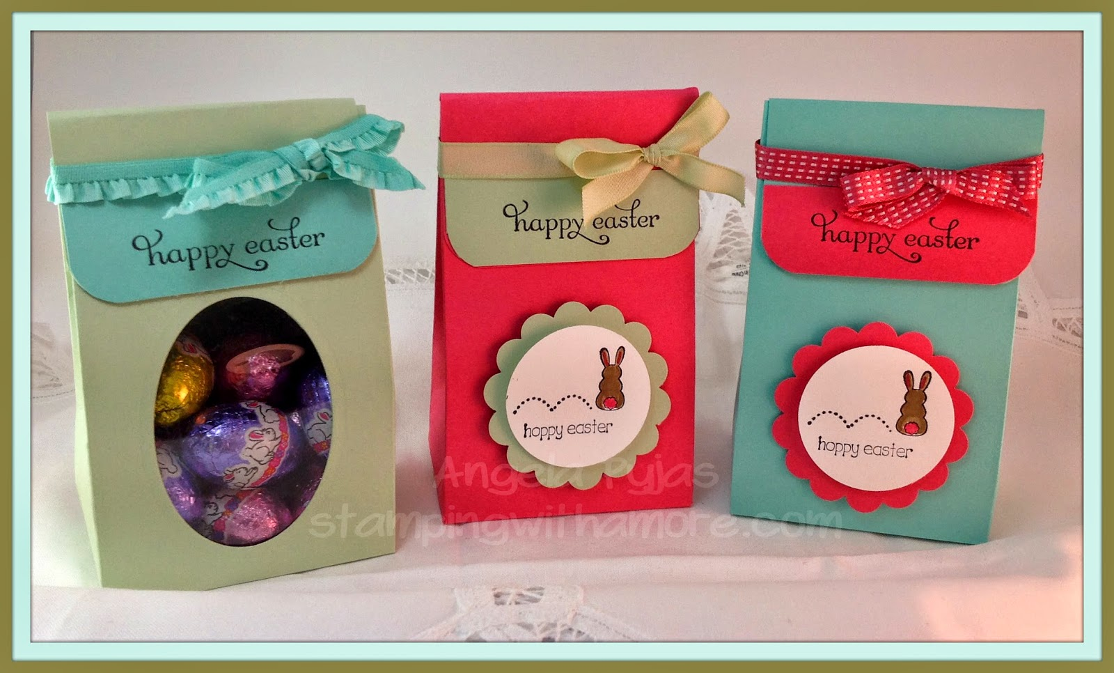 Stampingwithamore stampinup quick easy easter treat bag stampinup quick easy easter treat bag negle Gallery