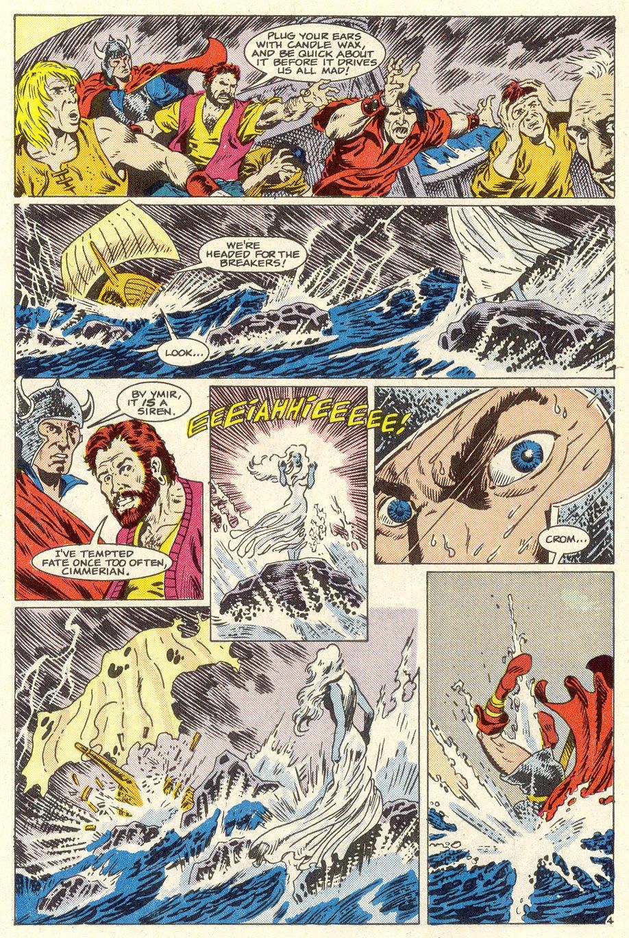 Conan the Barbarian (1970) Issue #186 #198 - English 5