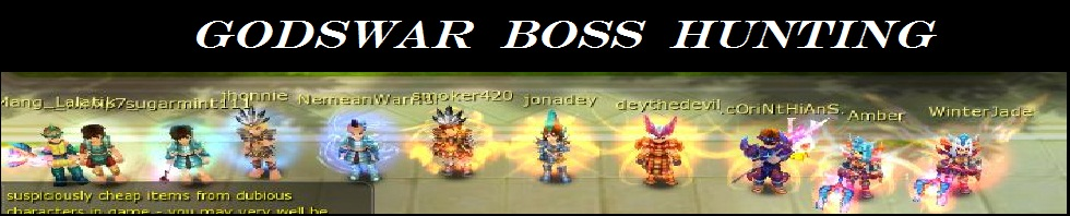 GodsWar Boss Hunting