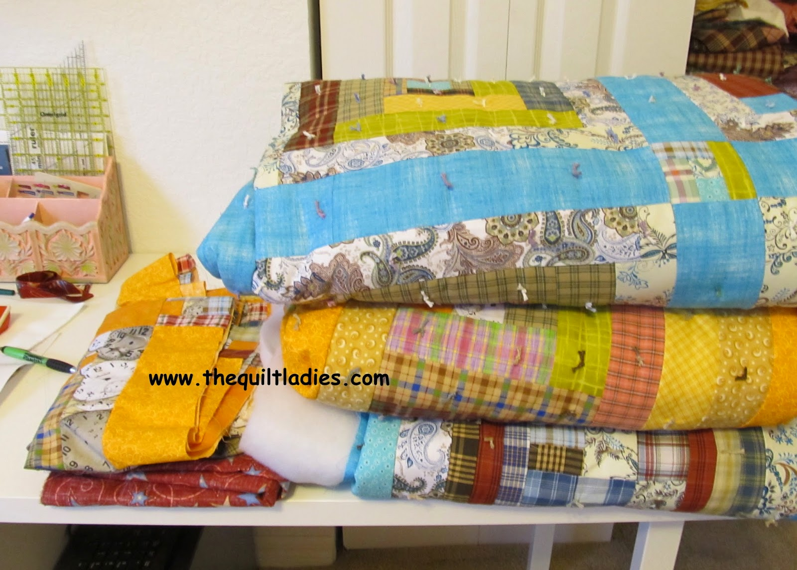 pictures of tied quilts