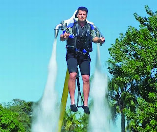 Water-Powered Jetpack