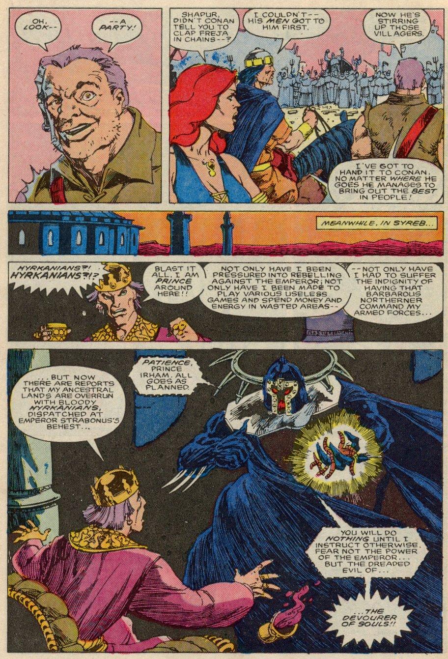 Conan the Barbarian (1970) Issue #197 #209 - English 14