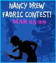 Nancy Drew Fabric Contest: