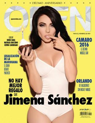 Revista Open México (Jimena Sánchez) – Diciembre 2015 – PDF True