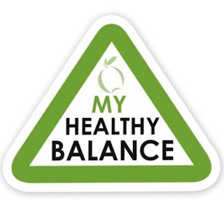 Balanced healthy lifestyle
