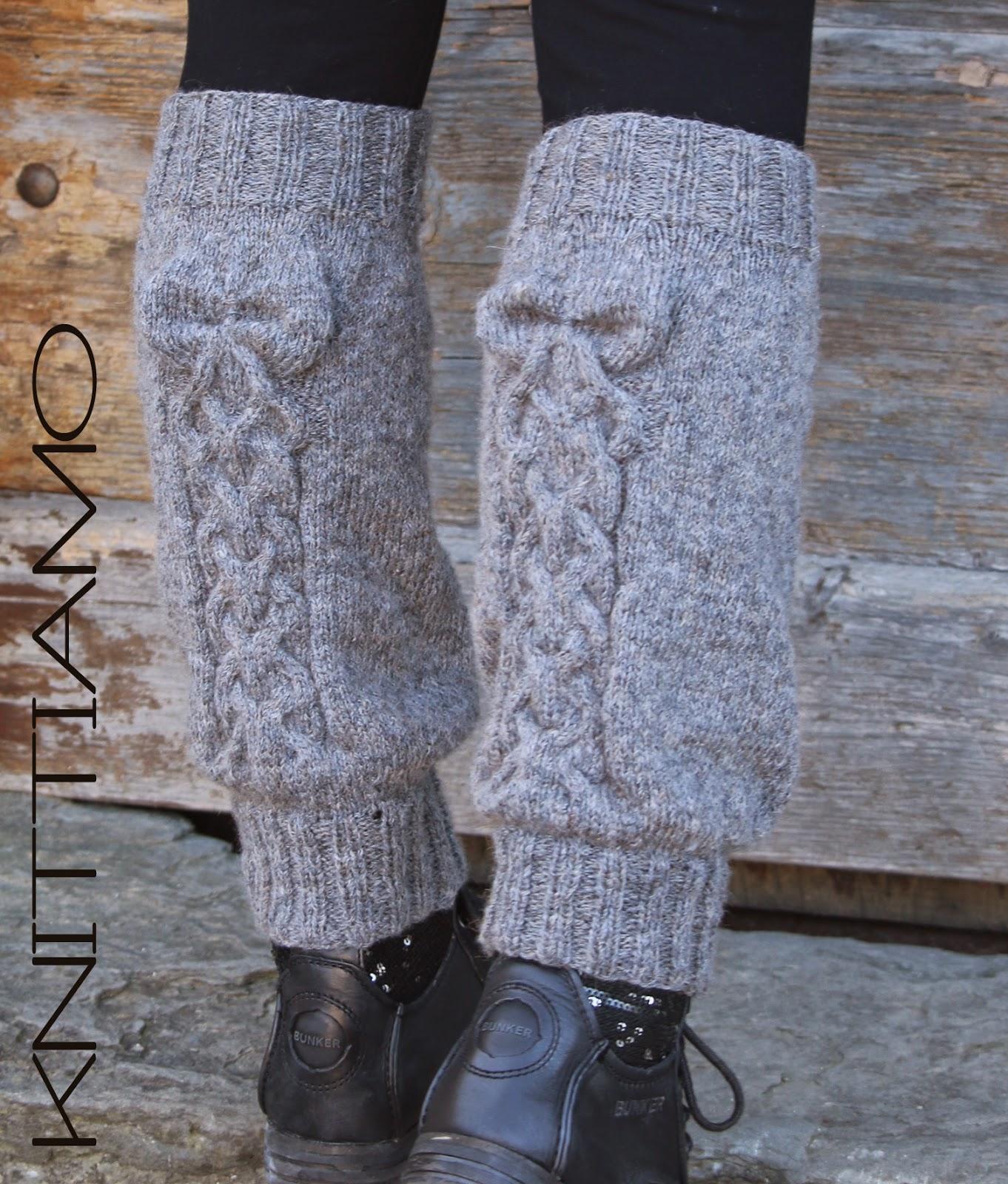 pattern legwarmer