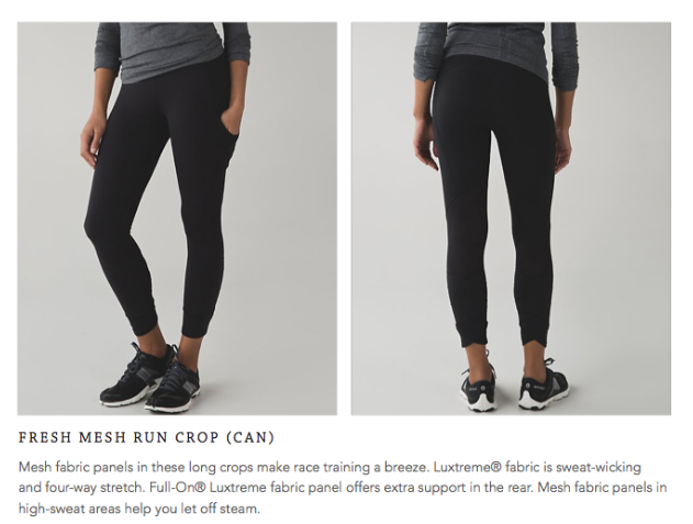 lululemon fresh-mesh-crop
