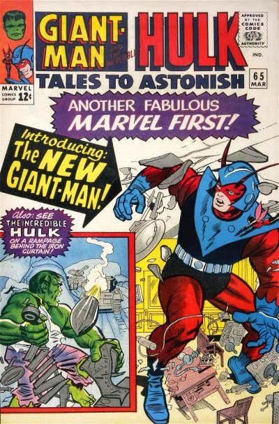 Tales to Astonish #65, Giant-Man and the Hulk