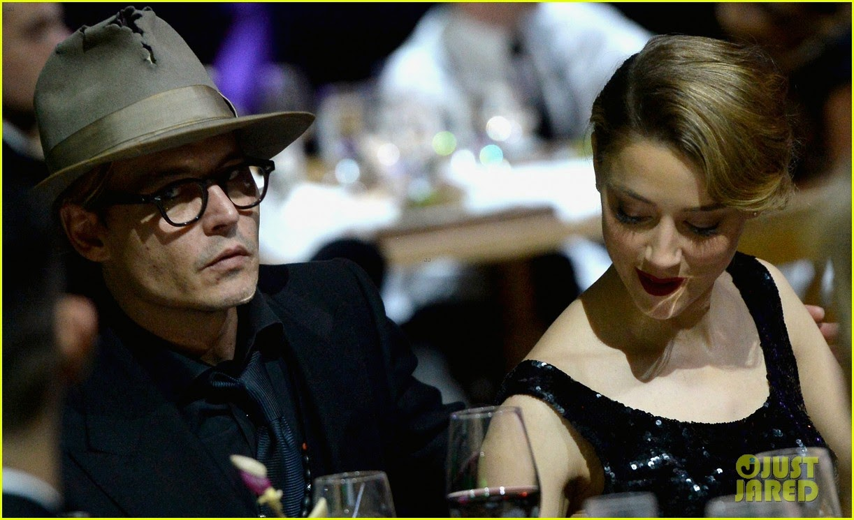 Johnny Depp  amp  Amber Heard   2014 Art of Elysium Heaven GalaJohnny Depp Amber Heard 2014