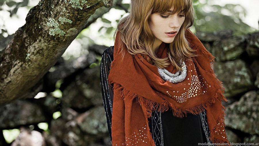 Moda otoño invienro 2015 India Style moda mujer.
