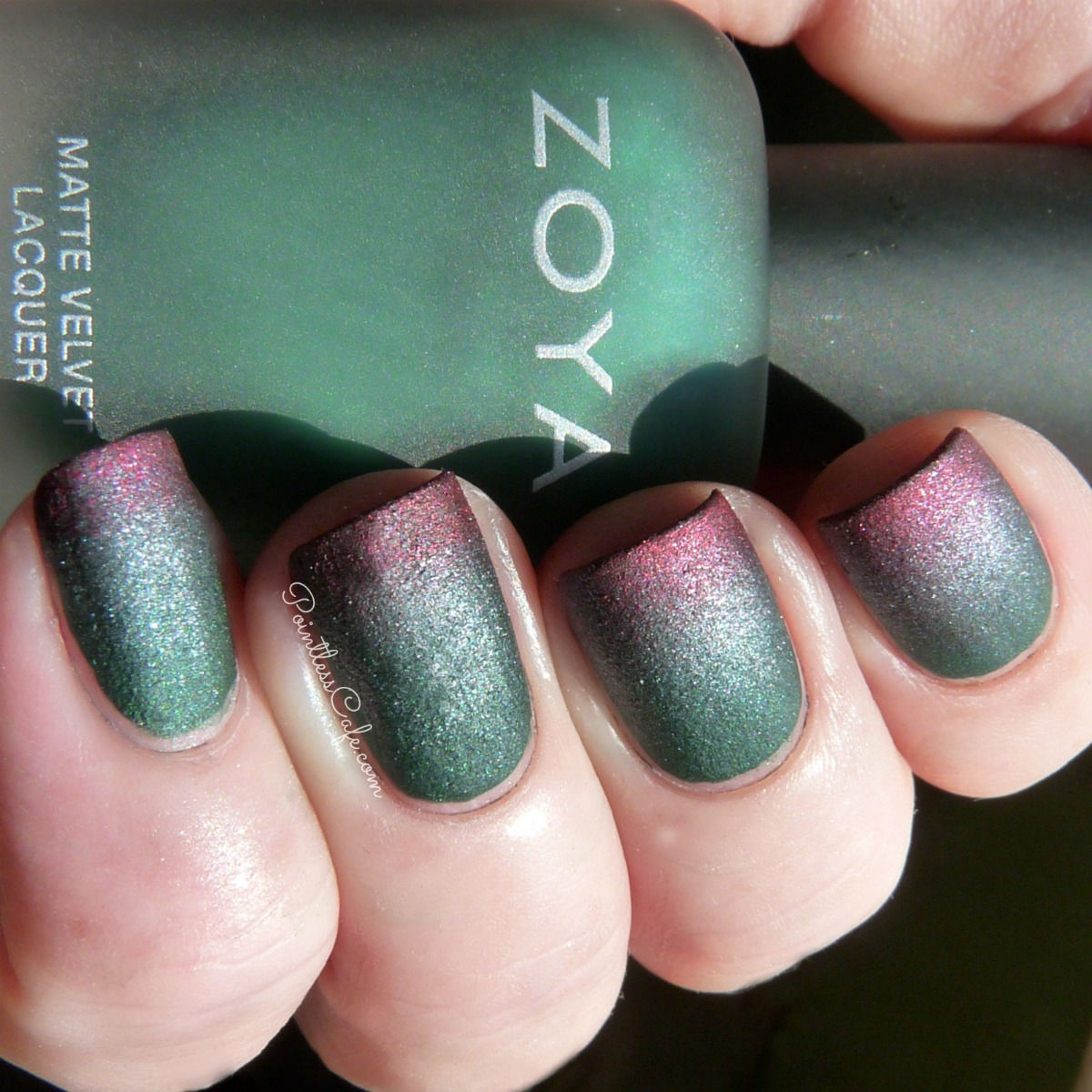 Zoya Nail Polish Matte Velvet Collection