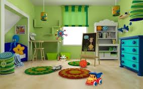cuarto muy colorido niños