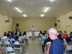 Palestra do Dr. Renato (Hospital de Base) na Semana Nacional Contra o  Alcoolismo