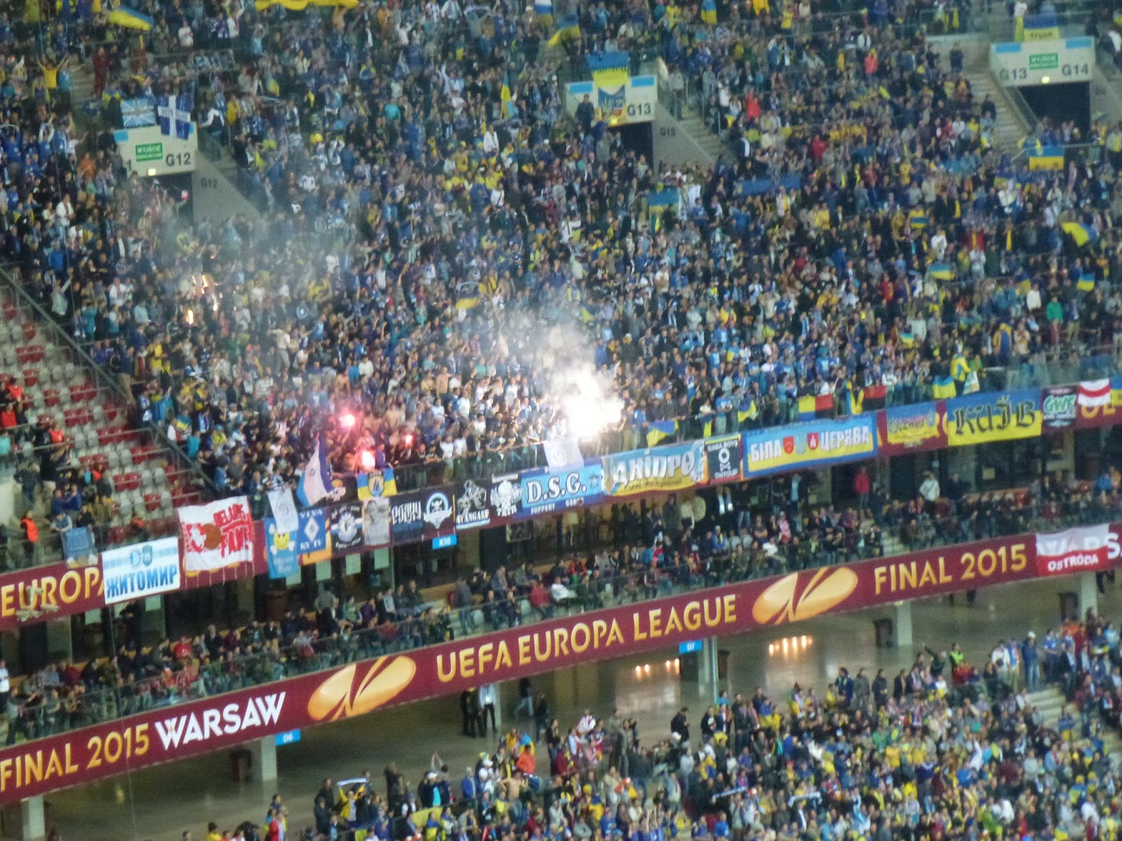 football travels worldwide: UEFA Europa League final ...