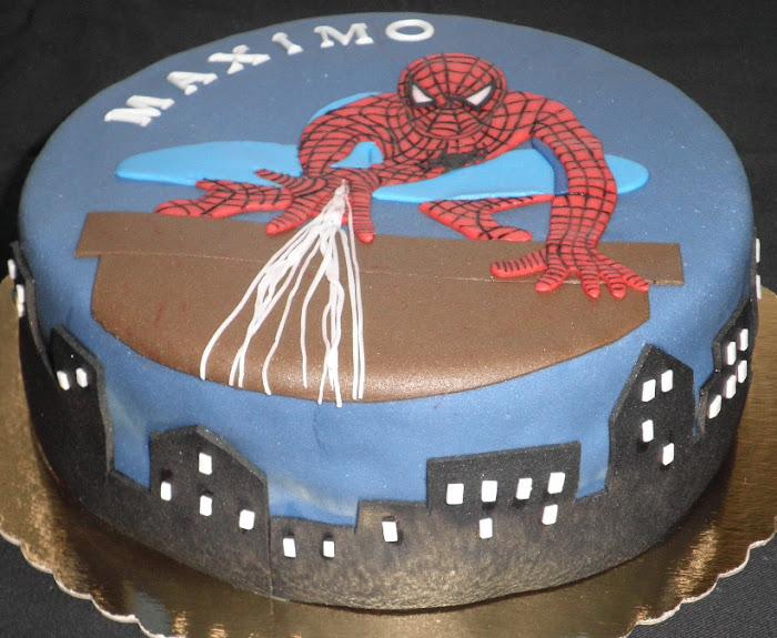 Tarta Spider man