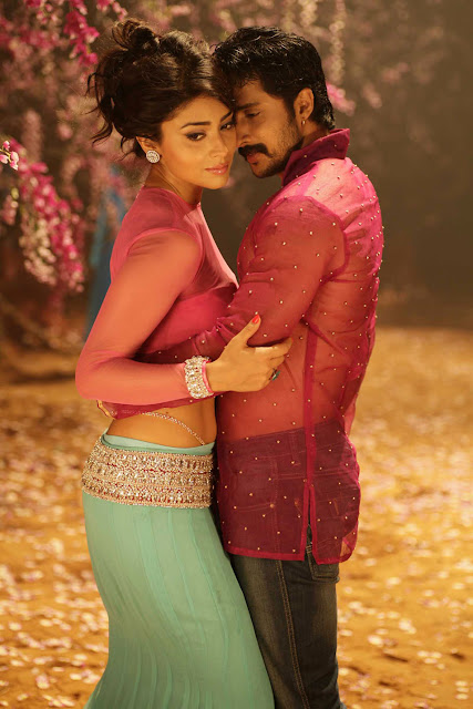 Shriya Saran and Prem's Kannada 'Chandra' Movie HQ Hot Stills