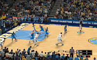NBA 2K13 Denver Nuggets Court Patch