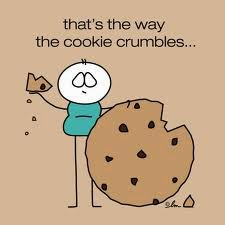 That's the way the cookie crumbles idiom