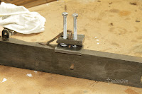 The special jig is designed to draw the fixing out of the timber without the use of excessive force.