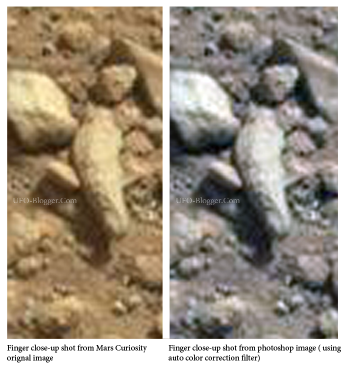 Mars Curiosity In Pictures. UFO's,Alien Carcass,Strange Artifacts and more..   Mars-finger-nasa