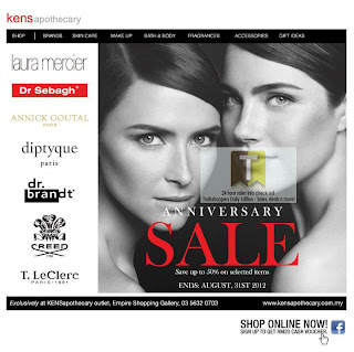 KENS Apothecary Anniversary Sale 2012