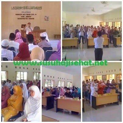 Edukasi Kesehatan dr GEMAHATI bersama Susu Haji Sehat Manasik Haji KBIH An Nida, Cibuaya Karawang