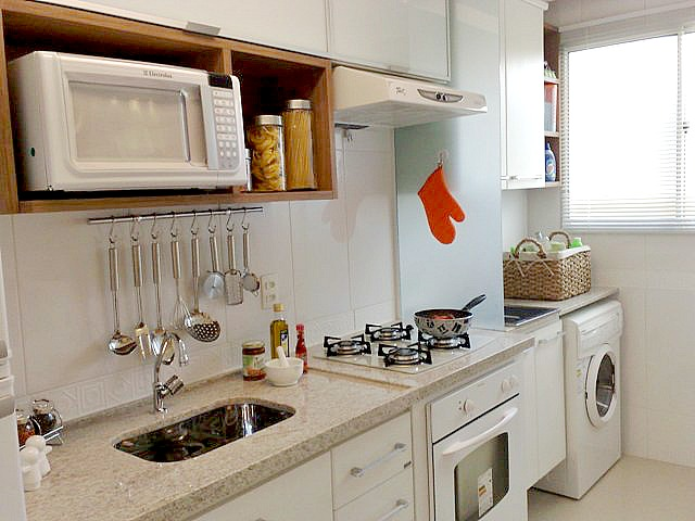pedra de granito para separar lavanderia da cozinha modelo com vidro