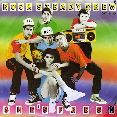 The Rock Steady Crew – She's Fresh (UK VLS) (1984) (320 kbps)