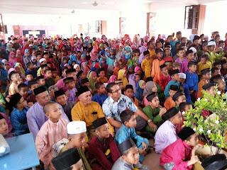 Majlis sambutan aidilfitri sekolah kebangsaan kg baharu kuala besut|yb tengku zaihan