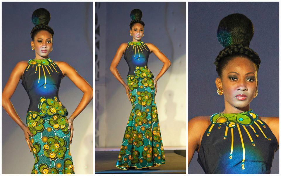 subira wahure official african couture blog  long dress kitenge