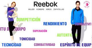 Ropa y zapatillas de la marca Reebok