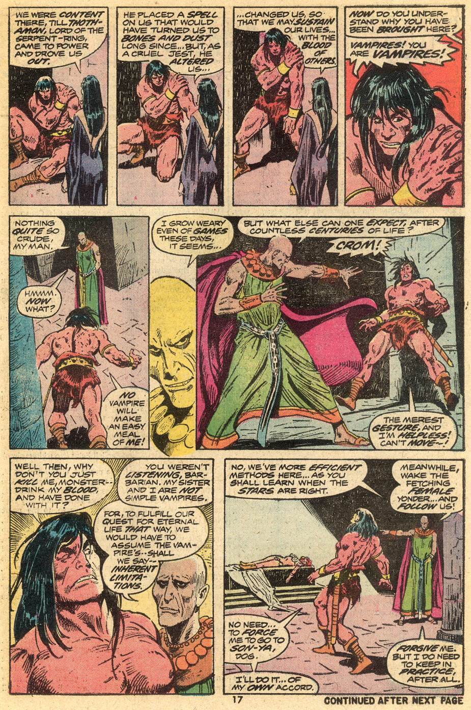 Conan the Barbarian (1970) Issue #43 #55 - English 12