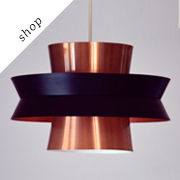 Danish design hanging lamp by Carl Thore | OldAndCold