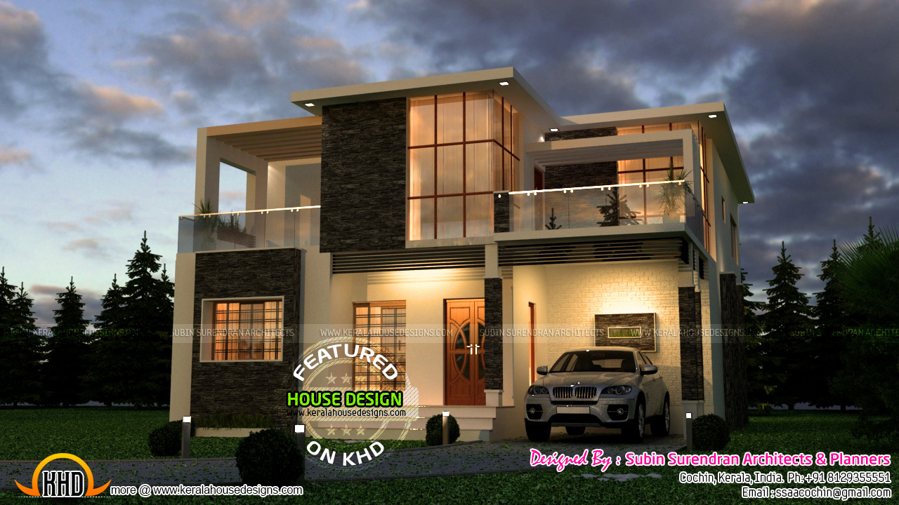 Very Attractive Modern House In Kerala Kerala Home