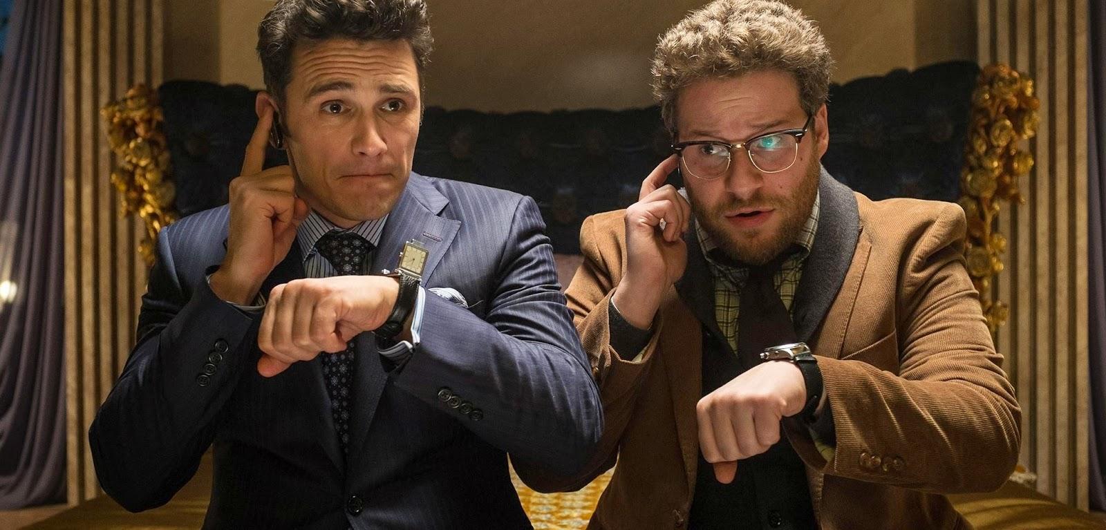 James Franco e Seth Rogen em novo trailer estendido da comédia A Entrevista