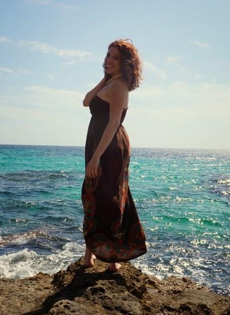 Vestido largo playa