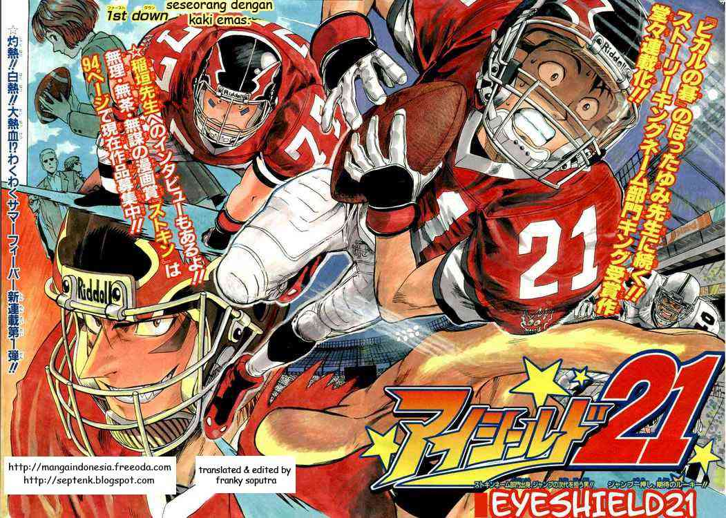 Komik eyeshield 21 001 - seseorang dengan kaki emas 2 Indonesia eyeshield 21 001 - seseorang dengan kaki emas Terbaru 5|Baca Manga Komik Indonesia|
