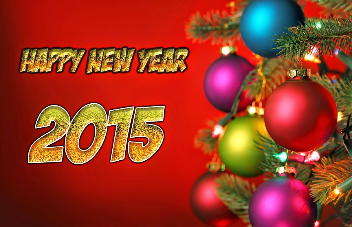 Top Beautiful Happy New Year Wallpapers 2015