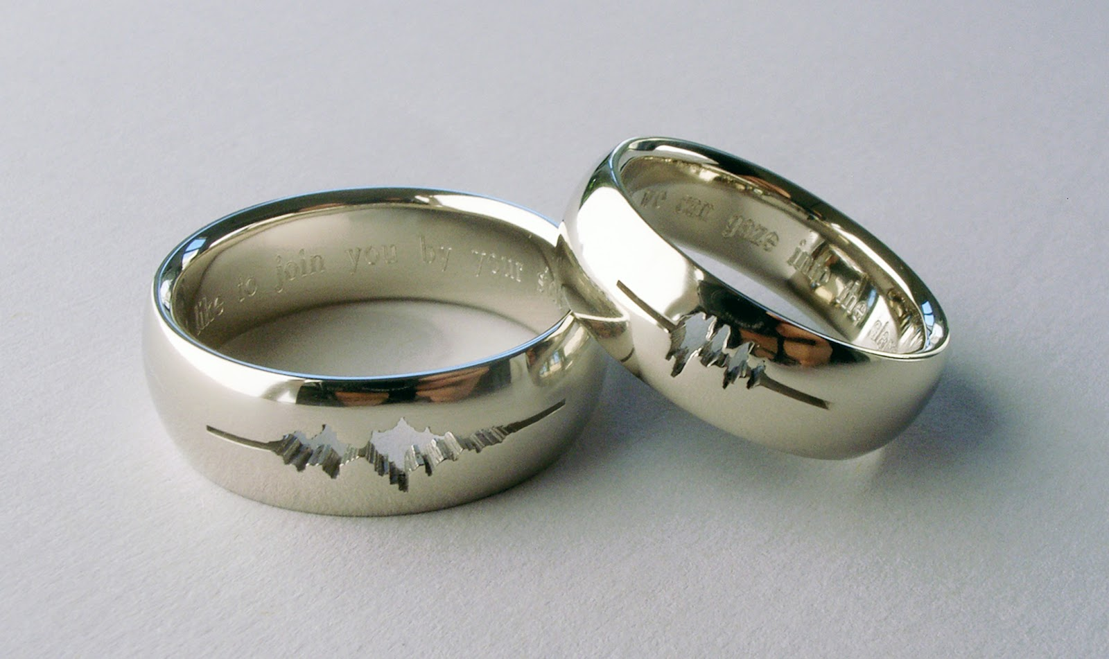 Fascinating new wedding rings