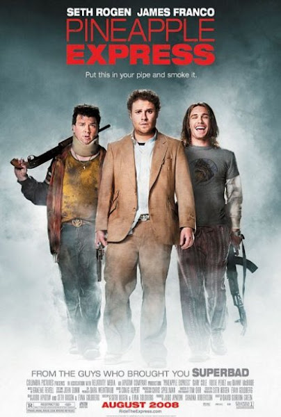 Poster Of Pineapple Express 2008 UnRated 720p BRRip Dual Audio