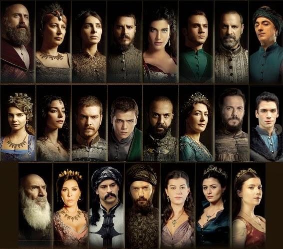 Personajes de Suleiman el gran sultán Personajes%2Bsuleiman