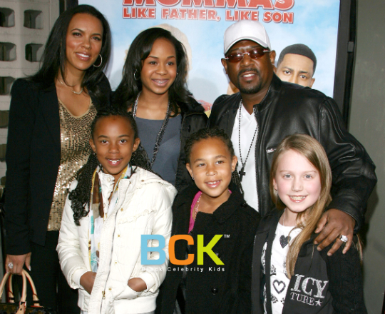 Who was martin lawrence first wife