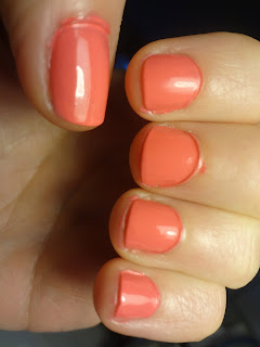 sally hansen coral reef nail polish