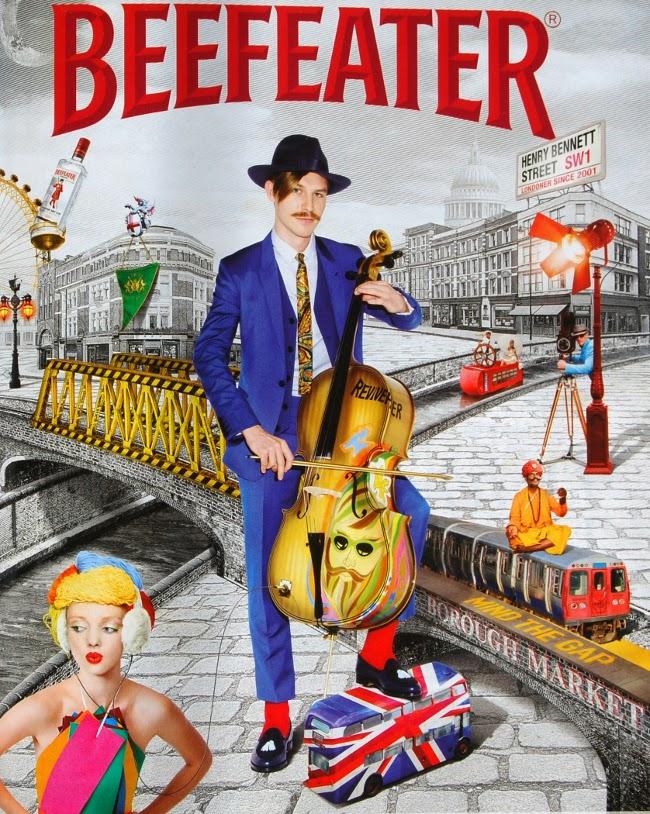 El músico Henry Bennett es la nueva imagen de Beefeater