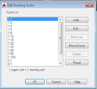Cara mengatur scale viewport AutoCAD.