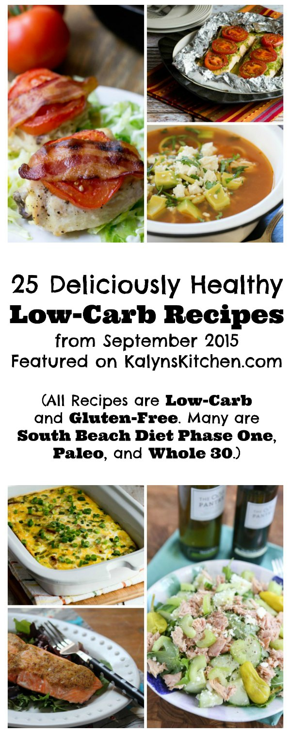 September 2015 Recipes >> 25 Deliciously Healthy Low Carb Recipes From September 2015 Gluten