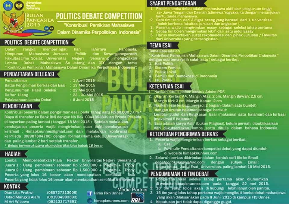 political debates 1999 essay